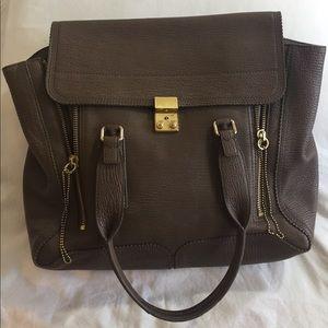 3.1 Phillip Lim Pashli Large Satchel Bag - Taupe