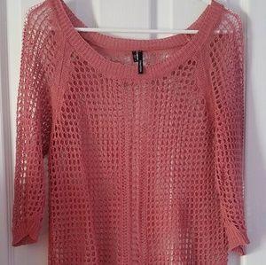 Crochet style shirt