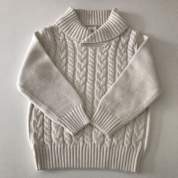 13b1014e Gymboree Shirts & Tops | Sale Baby Boy Cable Knit Sweater | Poshmark