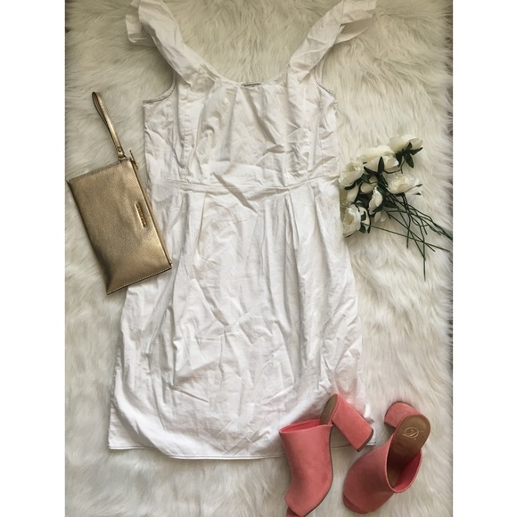 Banana Republic Dresses - White Banana Republic Dress 🍌