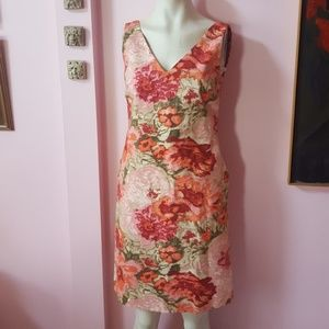 Talbots Floral Print dress