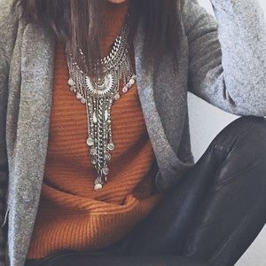 LOFT gray blazer