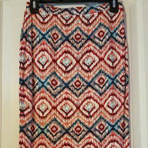 Dresses & Skirts - Colorful Pattern Skirt