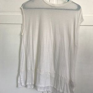 Plain White Free People Tee