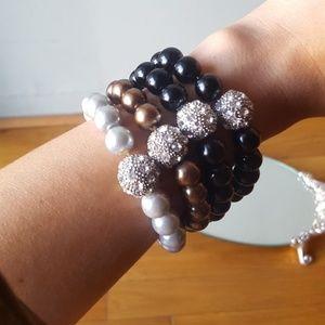 Jewelry - 🖤💎New 4 Crystal Water Elements Bracelets💎🖤