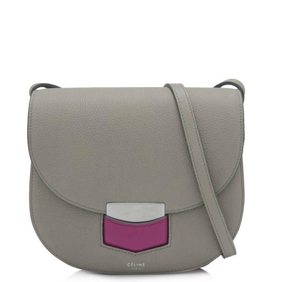57942ee2a Celine Bags | Trotteur Small Shoulder Bag | Poshmark