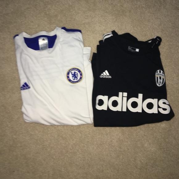 uk availability d99e6 7aeea Adidas Chelsea FC shirt/ Black Adidas Juve Shirt.