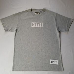 09be5bfe Kith Shirts | Ronnie Fieg Classic Tee Heather Grey | Poshmark