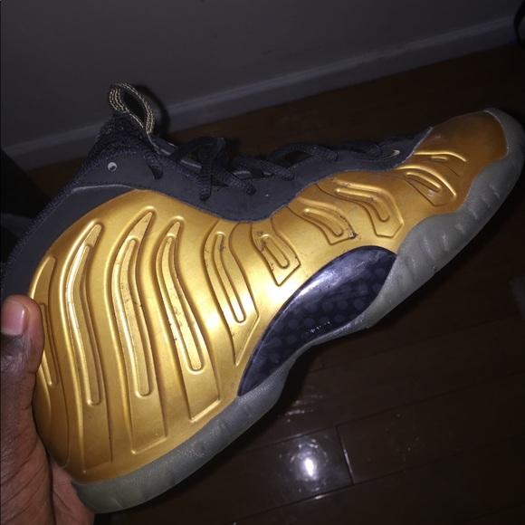 Nike Shoes | Nike Foam Posite Gold Kids