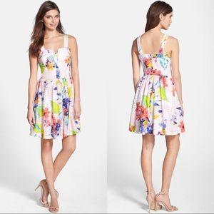 🆕NWT Trina Turk Elin Eyelet Rainbow Dress
