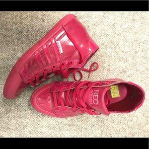 Adidas high tops tennis shoes
