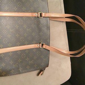 Louis Vuitton babylone shoulder totebag