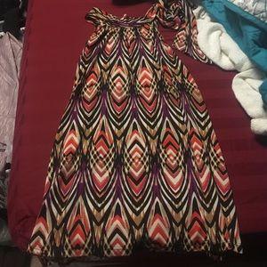 Sleeveless blouse, women's dress top. Halter top
