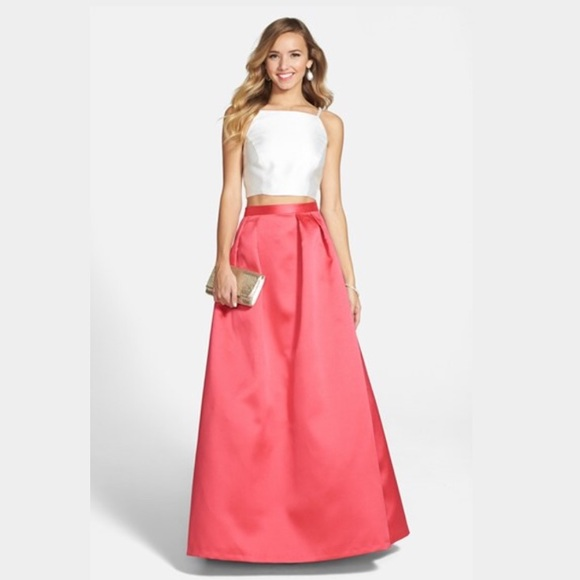 97cc0925cc00 Xscape Dresses | Twopiece Satin Ball Gown Lord Taylor | Poshmark