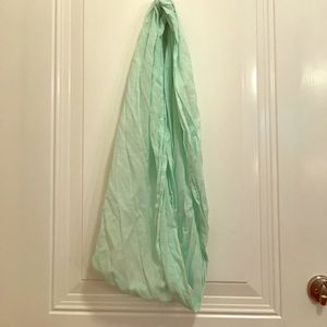 Accessories - Mint Infinity Scarf