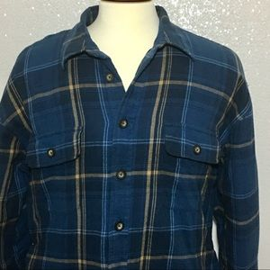 Other - Men's Towncraft quilted plaid shirt size XL