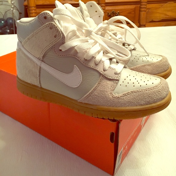timeless design 430bb 49e96 Nike Dunk High Premium Suede, Leather & Snakeskin NWT