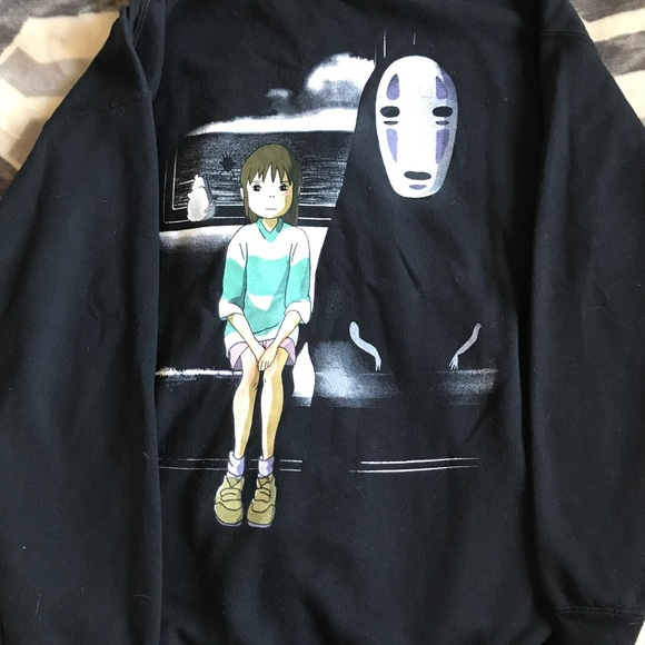 Hot Topic Other Zipper Hoodie Studio Ghibli Film Spirited Away Poshmark