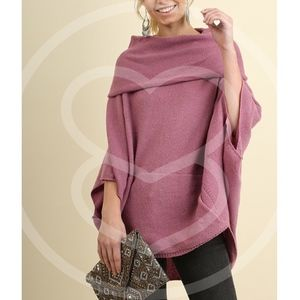 KAYCEE sweater - D. MAUVE