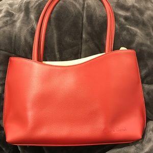 Cleo and Patek Paris leather Handbag