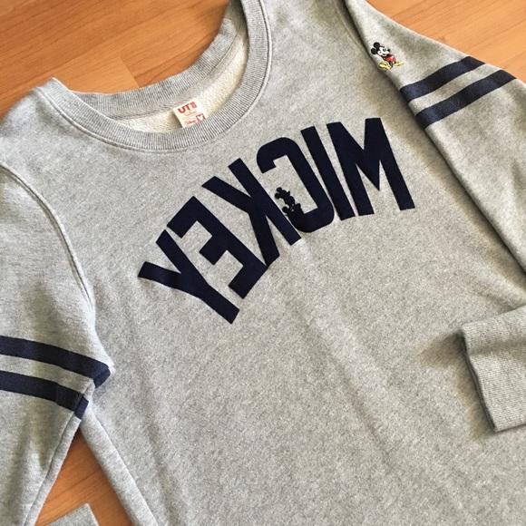 3109d41ca0b Uniqlo x Disney Mickey Mouse sweater dress Sz L. M 597fcfd5b4188ee4971214d3