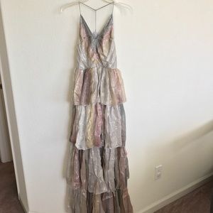82ee9187736c Urban Outfitters Dresses | Kimchi Blue Tiers Of The Ocean Maxi Dress ...