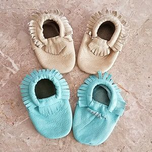 Shoes - Leather moccasins