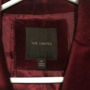 The Limited Jackets & Coats - The Limited • Red Velvet Blazer