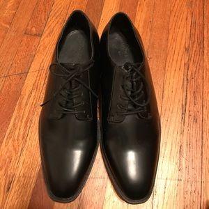 Mens black dress shoe