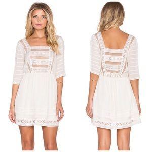 NWT Tularosa Jolee Sheer Lace Dress