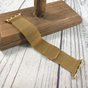 Accessories - 38mm Gold Milanese Band for Apple Watch