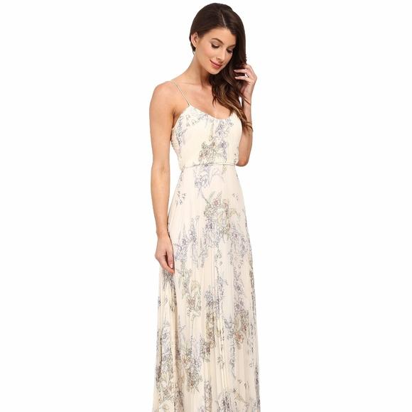 9c0c4b86f7df Jill Stuart Dresses | Jill Crinkle Chiffon Printed Gown | Poshmark