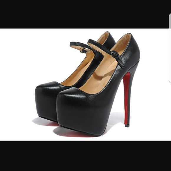 205f66d36934 Christian Louboutin Shoes - Christian Louboutin Black Lady Daf Pumps