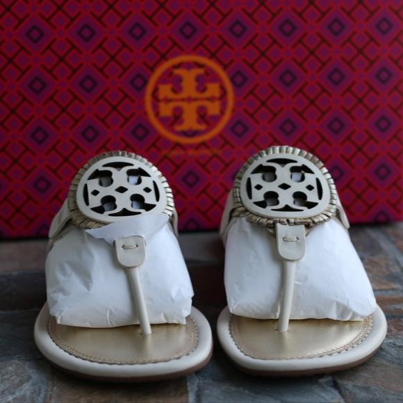 c3372165fd6c Tory Burch Miller Fringe Flat Thong Sandal