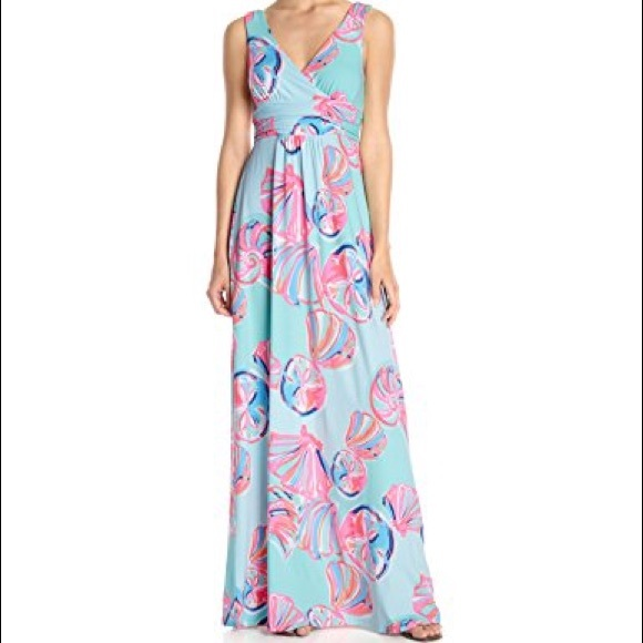 33b3a23e5a5a11 Lilly Pulitzer Dresses & Skirts - Lilly Pulitzer Sloane Maxi Dress | On The  Rocks