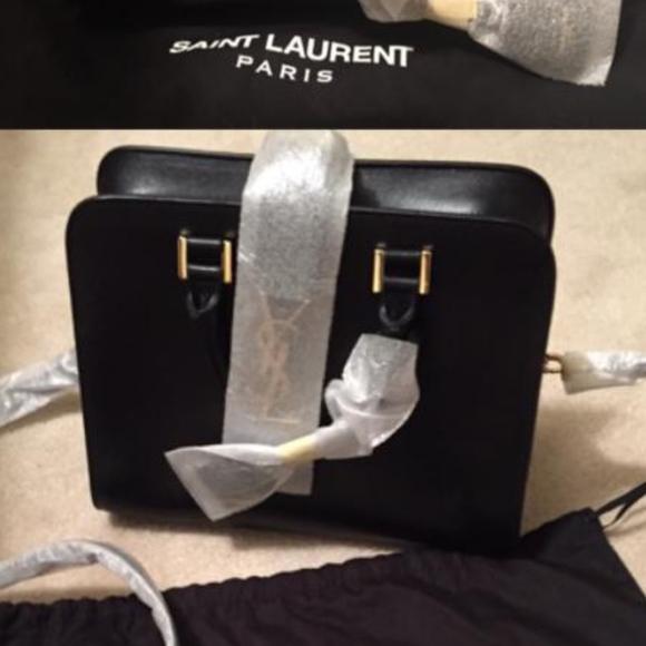 Yves Saint Laurent Bags   Monogram Cabas Bag Small   Poshmark 137e379055