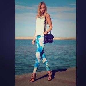 J Brand super skinny blue orchid