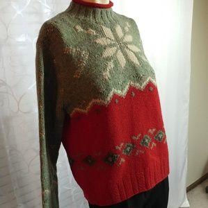 RALPH LAUREN Wool Blend Pullover/ FLASH SALE