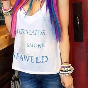 Graphic Mermaid Tank Top