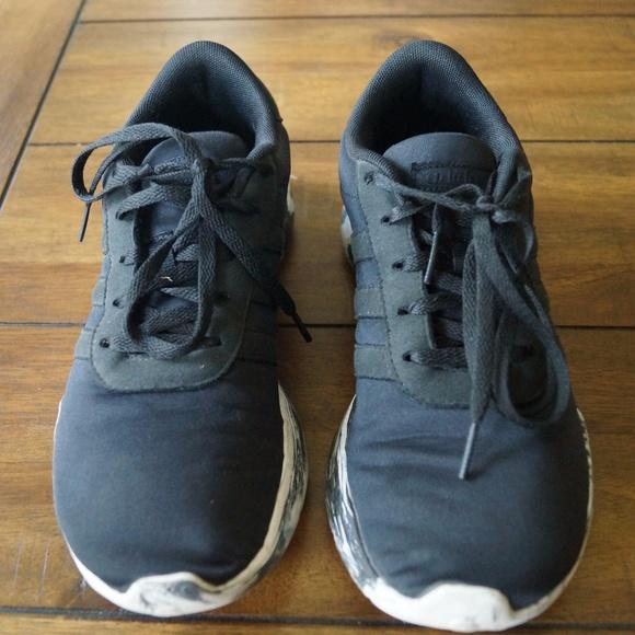 98d4117fd09 adidas Shoes - Adidas Women Neo Cloudfoam Black Sneakers Size 7.5