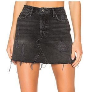 EVA DENIM SKIRT GRLFRND