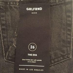 GRLFRND Skirts - EVA DENIM SKIRT GRLFRND