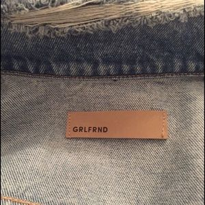 GRLFRND Jackets & Coats - DARIA OVERSIZED DENIM TRUCKER JACKET GRLFRND