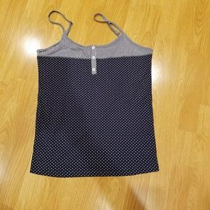 Tops - Polka dot and Striped Tank Top