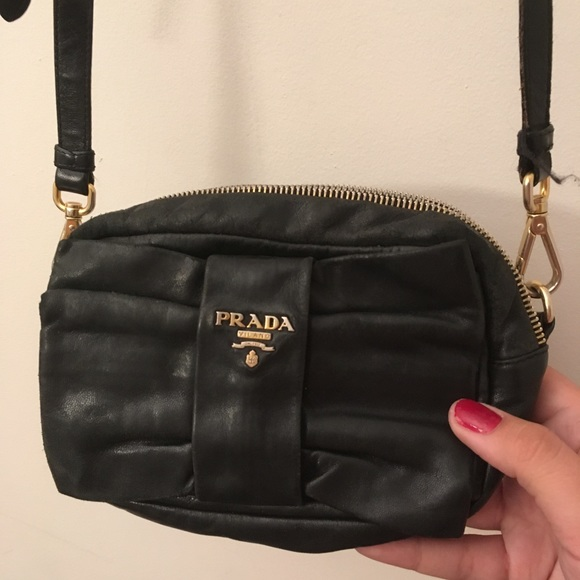 2a28b17386cd Prada Leather Tessuto Bow Detail Crossbody Bag! M_5980145556b2d692e21383ea