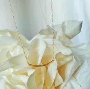 Jewelry - 14k Gold Filled Tube Necklace