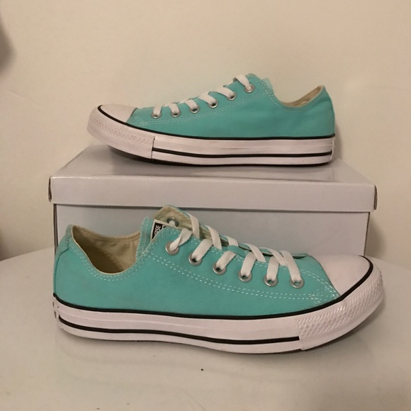 Converse canvas sea foam all stars womens 9 NEW 9dbd19c3b