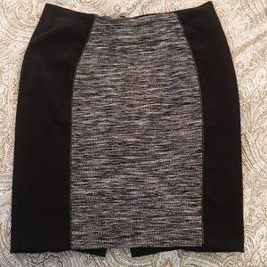 Black and Grey H&M skirt