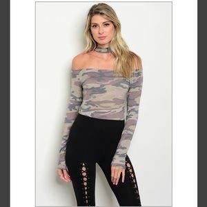 Tops - 🚨Just in🚨Case of camo bodysuit