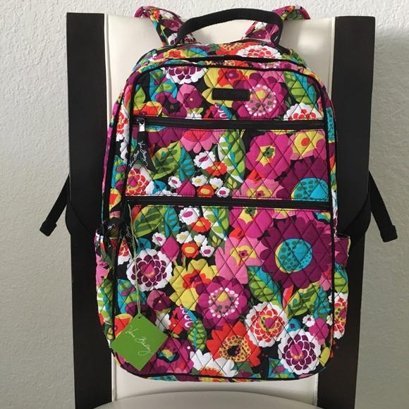 5d082d3a2a59 Vera Bradley Tech Backpack 🎒 Va Va Bloom